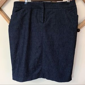 Dalias Collection size 14 Chambray -Denim Skirt
